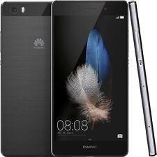 BRAND NEW! Huawei P8 Lite - Dual SIM Factory Unlocked Phone 16GB Black [ALE-L23]