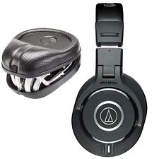 Audio-Technica ATH-M40x Monitor Headphones+SLAPPA -HP-07 HardBody Headphone Case