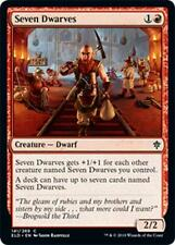Foil - SETTE NANI - SEVEN DWARVES Magic ELD Foil