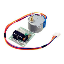 12V Stepper Motor 28BYJ-48+Drive Test Module Board ULN2003 5 Line 4 Phase New