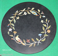 Table Top Marvelous Pietra Dura Marble Inlay Antique Collectible Art Xmas Gift