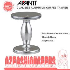 100% AUTHENTIC Brand New AVANTI Aluminium Coffee Tamper Dual Size 50mm 55mm PI