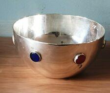 Vintage Silver Plated Glass Set Bowl