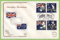 G.B. 1988 Australia Bicentenary set on Cotswold First Day Cover, London SW1