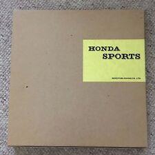 HONDA Sports Memorial Fan Book NEKO MOOK s500 s600 s800 VINTAGE JAPAN TWIN CAM