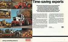 1974 Case Agri King 1370 1816 1212 David Brown  2 Page Farm Tractor Print Ad