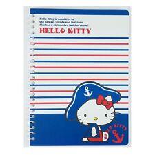 Hello Kitty Spiral Notebook : captain
