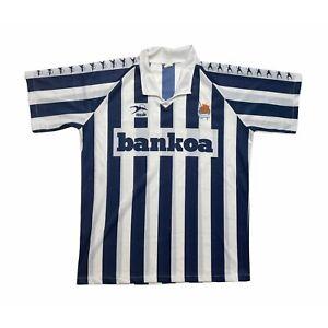 🔥Original Real Sociedad 1992/94 Home Football Shirt Vintage - XL🔥