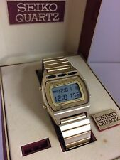 Seiko A257-5009 Chrono Alarm  Quartz  Digital LCD  Collectible Watch