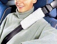 2x Autogurt Polster Gurtpolster Gurt Polster weiß Gurtschoner Schulterpolster