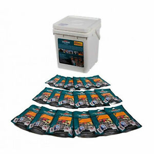 Back Country Cuisine Freeze Dried Food Emergency 18L Bucket 18 Served Meals
