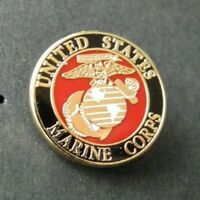 USMC US MARINES Small Collar Lapel Pin 1/2 inch Marine