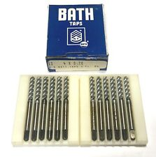 """Bath 7//16/""""-14 Taps 3 flute plug spiral point GH3 and 4 flute bottoming GH2"""