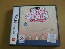 BIG BRAIN ACADEMY NINTENDO DS PAL , all instructions, boxed