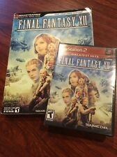 Final Fantasy XII Game And Guide PlayStation 2 PS2