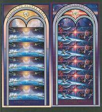 UN 1992 Planet Earth Shts 10 NH:NY#609-10; Geneva 220-22;Vienna 133-34;Lot#6/2