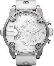 Diesel Genuine Leather Strap 30 m (3 ATM) Wristwatches