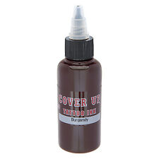 Mom's Cover Up Tattoo Ink - Burgundy 1 oz