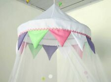 FLAGS and DOTS bed canopy MOSQUITO NET new