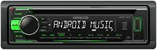 Kenwood Kdc-110ug Mp3-tuner verde USB aux