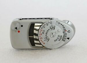 Leica meter MC Metrawatt Argent Chromé Pour Leica M2 M3 M4 M4-2 M4-P