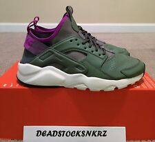Nike Air Huarache Run Ultra SE Dark Stucco River Rock 875841 003 Men's Size: 9