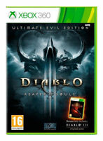 Diablo 3 - Reaper of Souls - Ultimate Evil Edition For PAL XBox 360 (New)