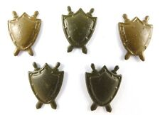 5 Soviet USSR badges Military Legal structure of all arms shoulder pins