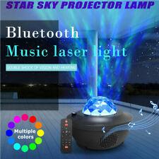 USB LED Galaxy Projector Starry Night Sky Lamp Star Music Player Light Blueteeth