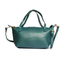2 Way Shoulder Sling Leather Office Bag (Green)
