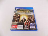 Mint Disc Playstation 4 Ps4 Far Cry 5 Gold Edition Free Postage
