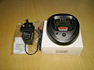 New Motorola PMLN5191B UK single charger for DP1400 & CP040