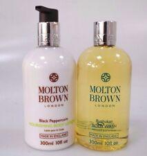 MOLTON BROWN Bushukan Body Wash + Black Peppercorn Lotion Amazing Mens Set 300ml