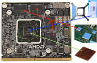 """Remplacement KIT for HD 6970 / 6970M With a 6770M card for iMac 21"""" 27"""""""