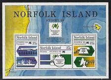 1988 Norfolk Island Scott #439a (SG #447) - SYDPEX '88 Souvenir Sheet - MNH