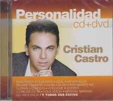 CD/DVD - Cristian Castro NEW Personalidad FAST SHIPPING !