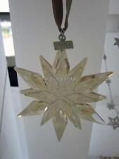 SWAROVSKI CHRISTMAS SCS ORNAMENT 2011 GOLD 1092040 MINT BOXED RETIRED RARE