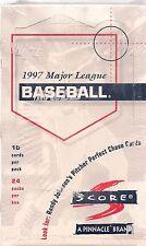 1997 SCORE BASEBALL BOX LOOK FOR RANDY JOHNSON PITCHER PERFECT