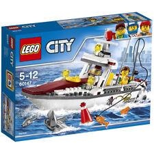 LEGO City 60147: Fishing Boat - Brand New