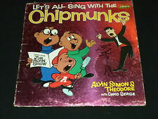 Let's All Sing With The Chipmunks David Seville~1961 LRP 3132 Theme~FAST SHIP!!!
