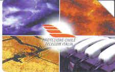 Schede telefoniche rare- private- Protezione Civile -n° 349 USATA