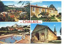 CP 16 CHARENTE - Chalais - Multivues couleurs