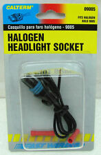 9005 HEADLIGHT PIGTAIL/PLUG/SOCKET  HID OR HALOGEN LIGHTS WIRE CONNECTOR HB3*EW