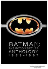 Batman : The Motion Picture Anthology 1989 - 1997 (4 DVD)