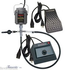 FOREDOM K 2293 POWERGRAVER KIT for Engraving, Stone Setting, and Decorative Work
