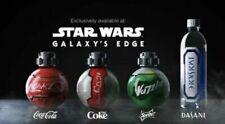 Star Wars Galaxy's Edge Coca Cola Coke Sprite Dasani Set Of 4