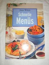 Anne Wilson - schnelle Menüs - Buch | gebraucht