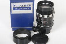 Schneider Tele-Xenar 135mm f/3.5 lens, Exakta Mount, original box