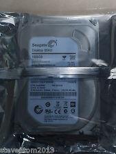 "New Seagate Desktop SSHD 1000GB 7200RPM 3.5""ST1000DX001 Solid State Hybrid Drive"