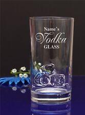 Personalised VODKA GLASS HI-BALL, 12ozTumbler glass Birthday/present/gift 119